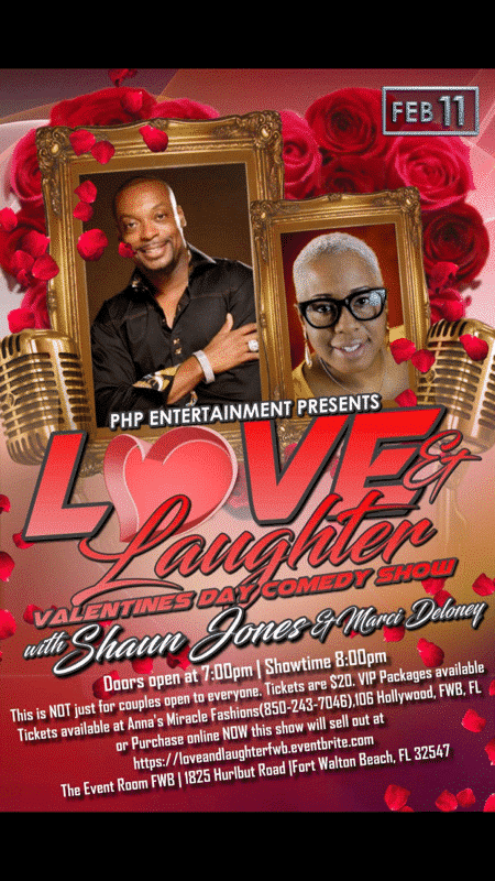 Love and Laughter Valentines Day Comedy Show Featured Image