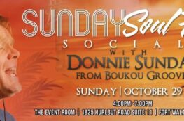 Sunday Soul Food Social With Donnie Sundal