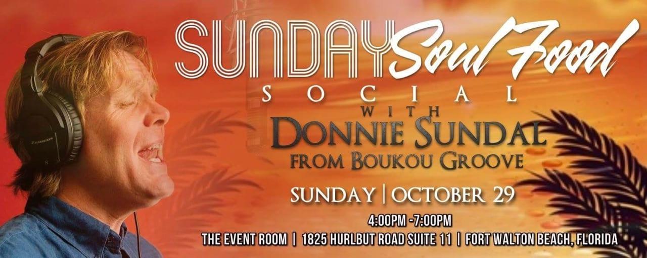 Sunday Soul Food Social With Donnie Sundal